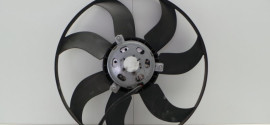 Вентилятор радиатора охлаждения Skoda Fabia (2011-2015)